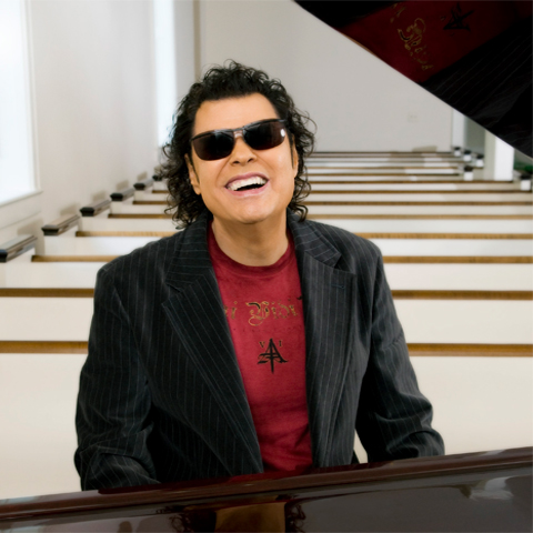 The 77-year old son of father (?) and mother(?) Ronnie Milsap in 2021 photo. Ronnie Milsap earned a  million dollar salary - leaving the net worth at  million in 2021