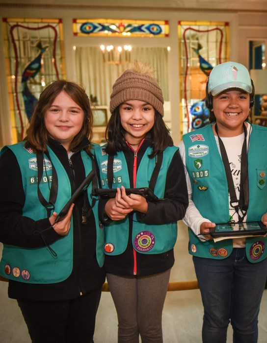 Scouts Rock at Graceland