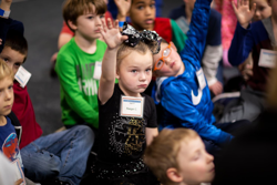 Kids at Homeschool Discovery Days at the Air Zoo