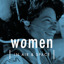 Women in Air and Space Exhibit Ad