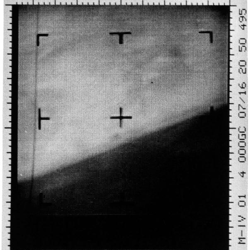 Mars first picture from Mariner 4