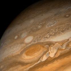 Red spot on Jupiter