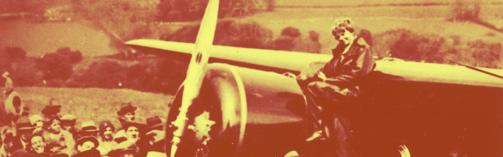 Amelia Earhart background