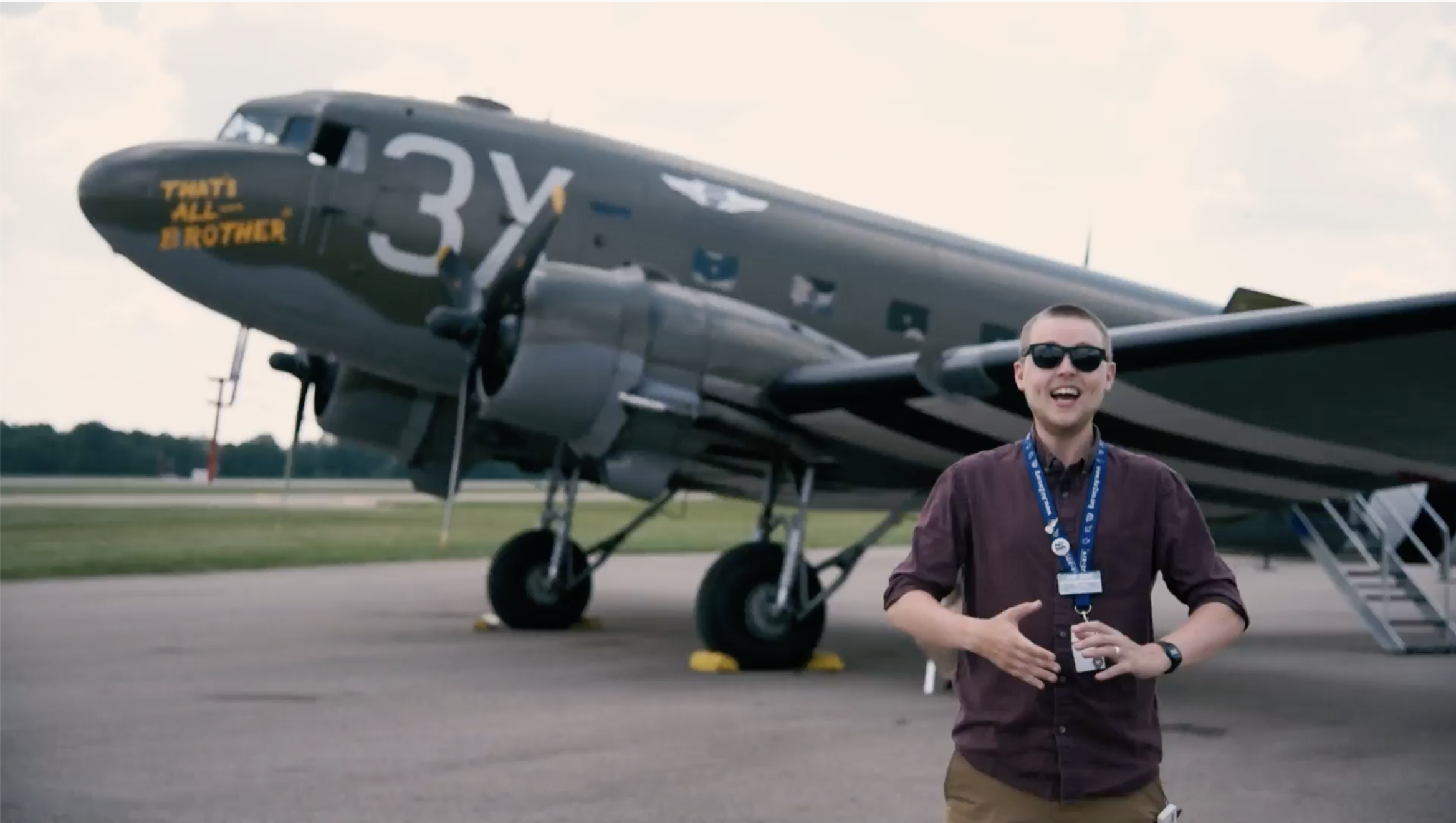 A look at the C-47 that led D-Day image