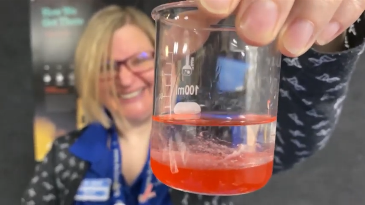 Extracting Strawberry DNA! image