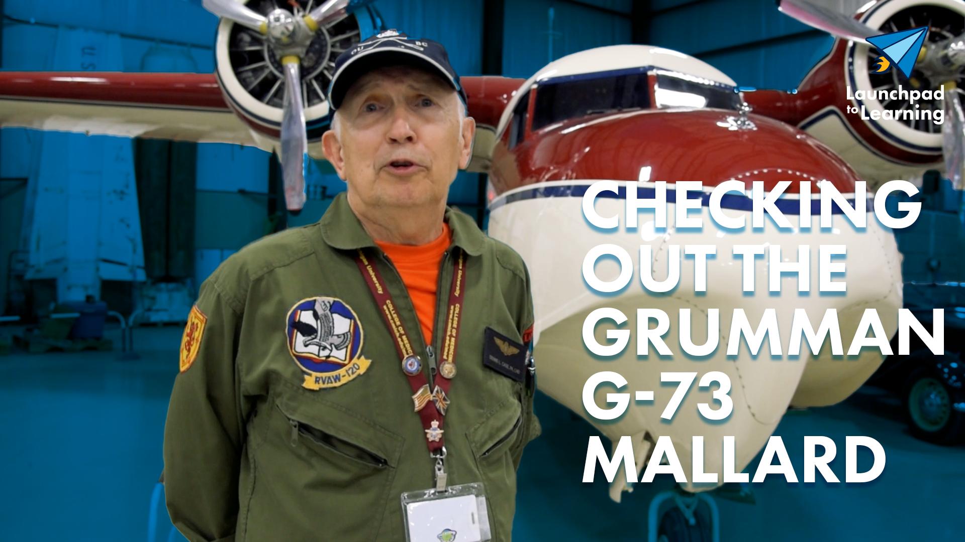 Checking out the Grumman Mallard image