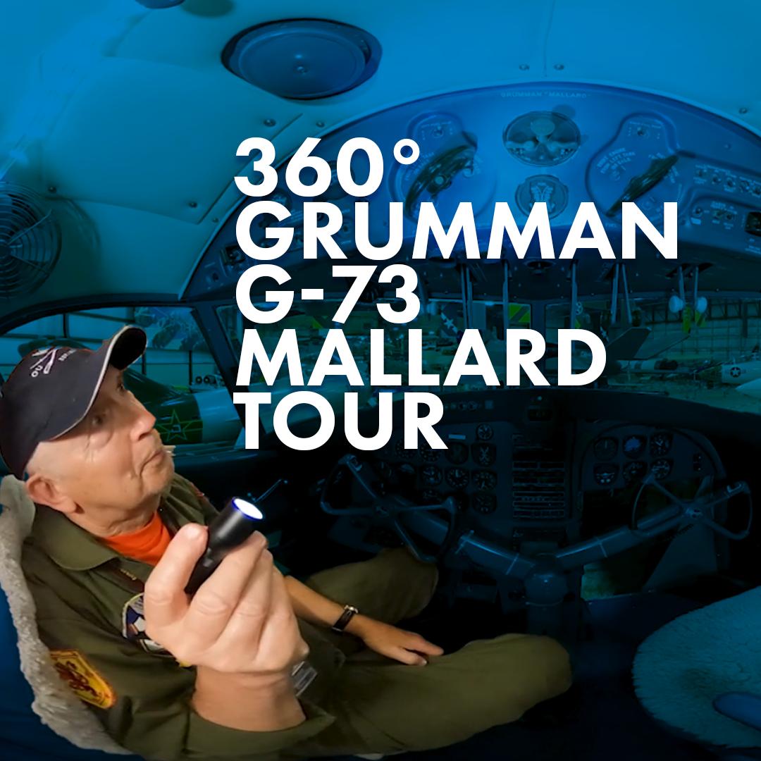 360° Tour of the Grumman G-73 Mallard image
