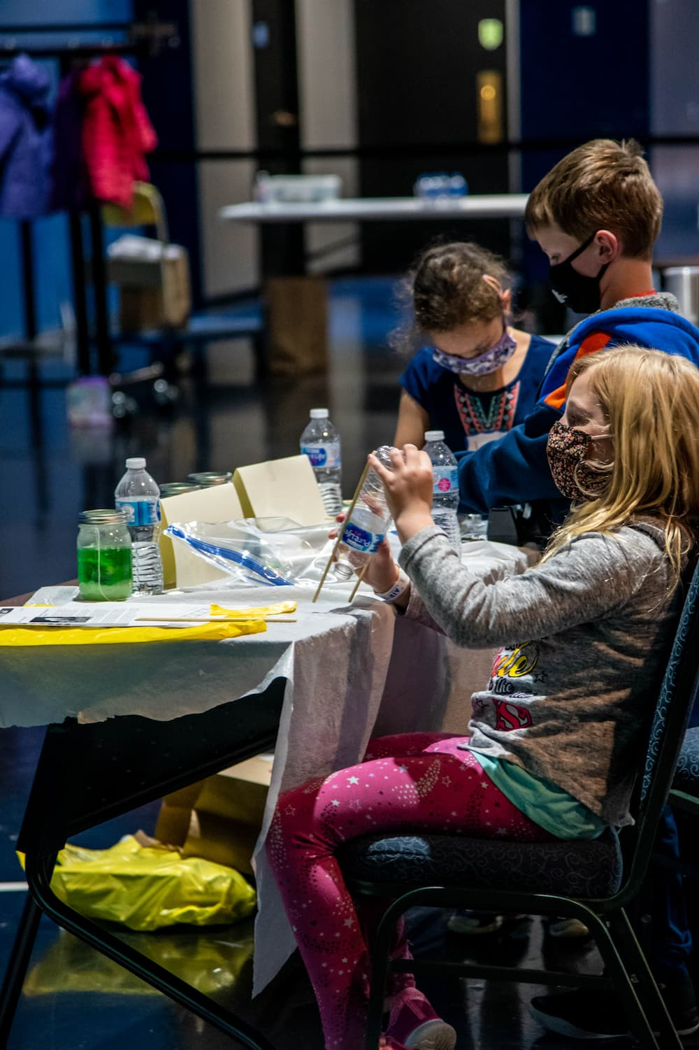 Kids on Out of This World Exhibit at Air Zoo