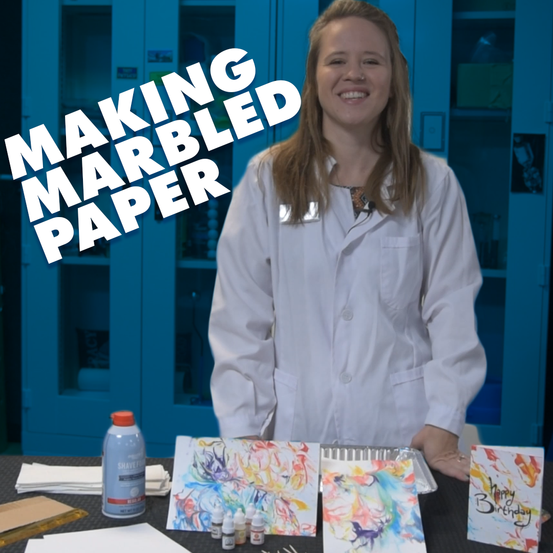 Making Marbled Paper image
