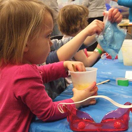 Preschool STEAM Day - Foamy, Fizzy Science