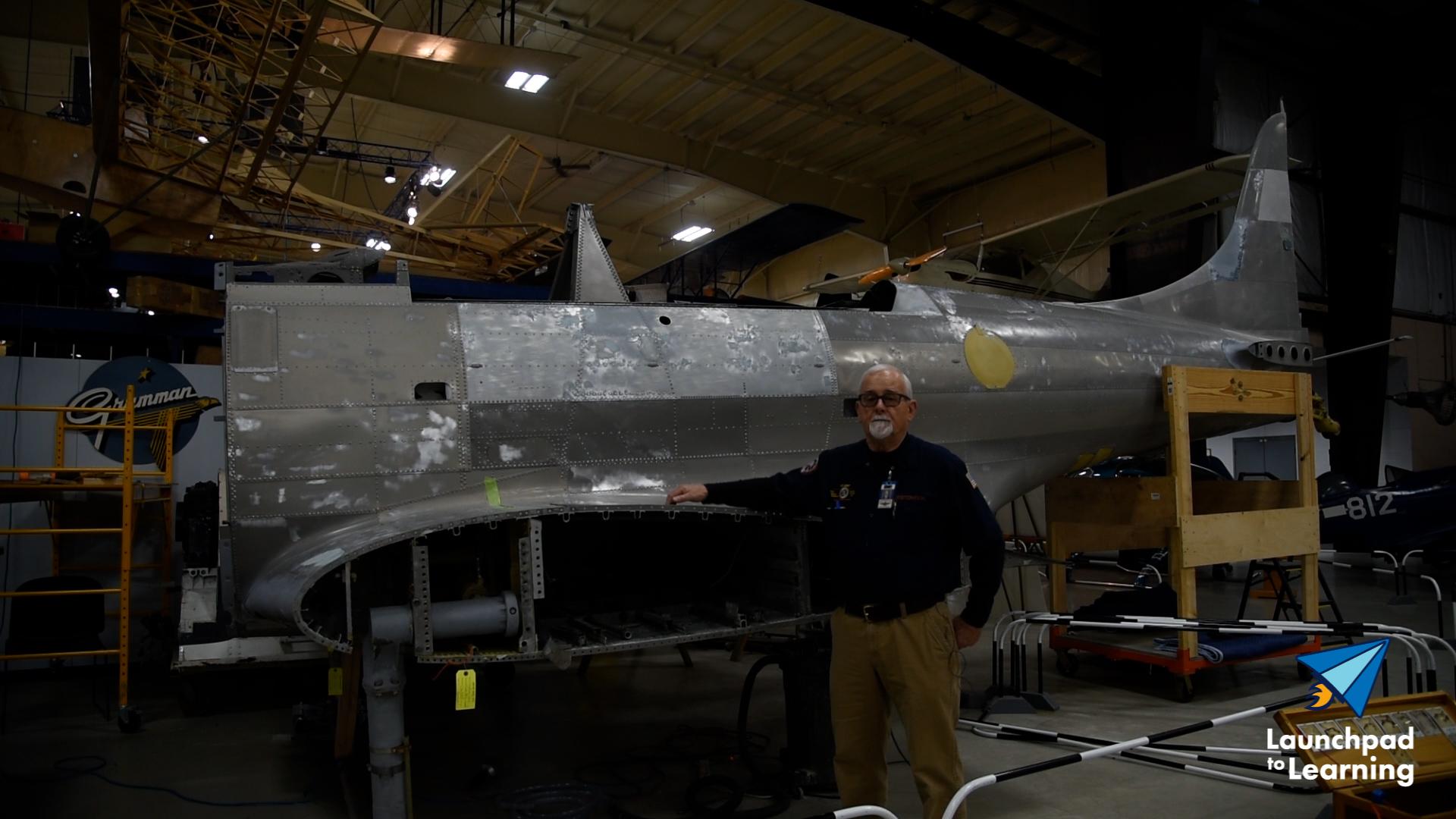 Restoring a Douglas Dauntless Dive-Bomber SBD-2P image