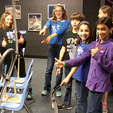 Spring Break Camps - Rockets and Roller Coasters (K-2nd grades and 3rd-5th grades)