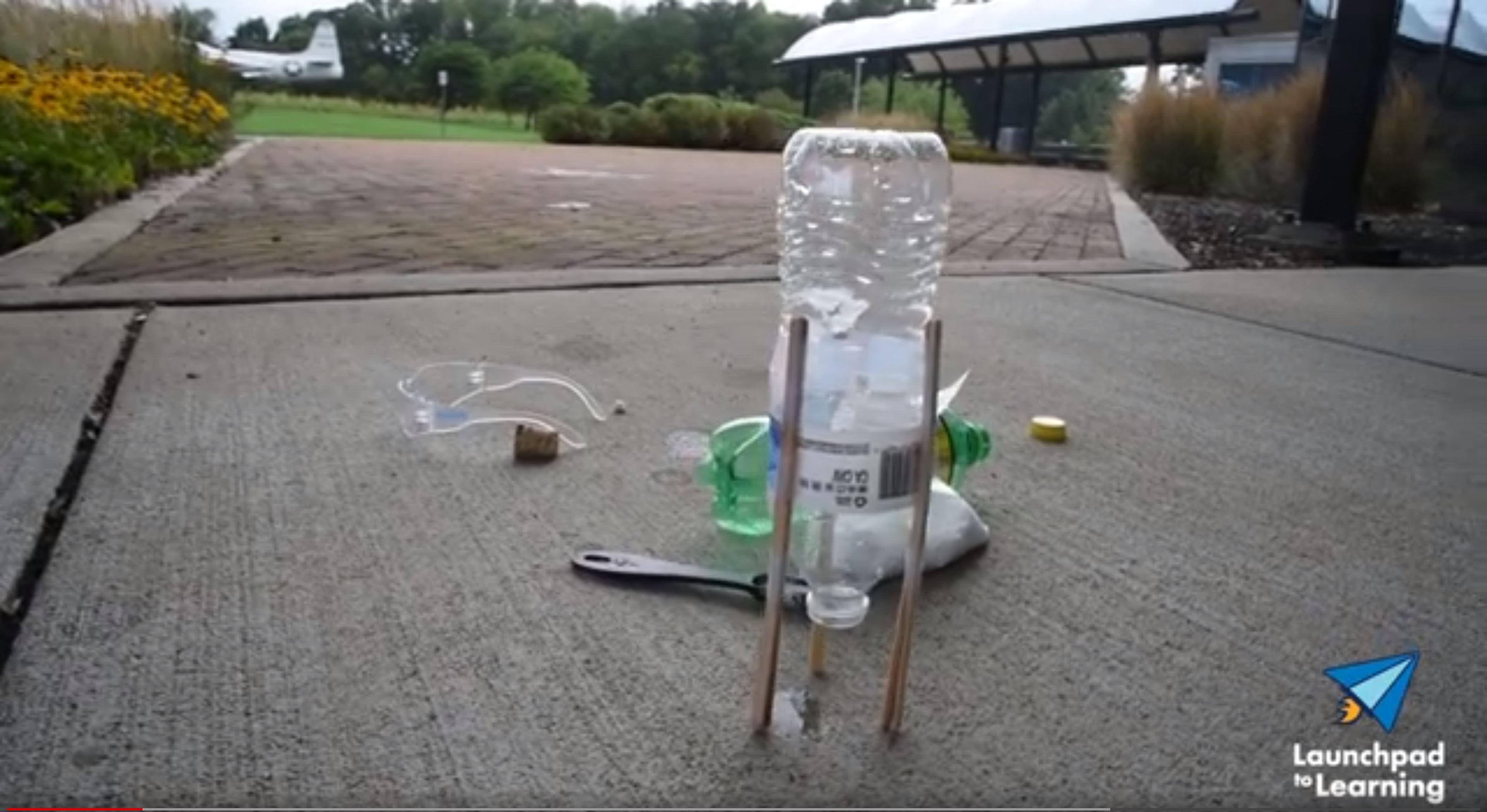 Baking Soda Bottle Rocket image