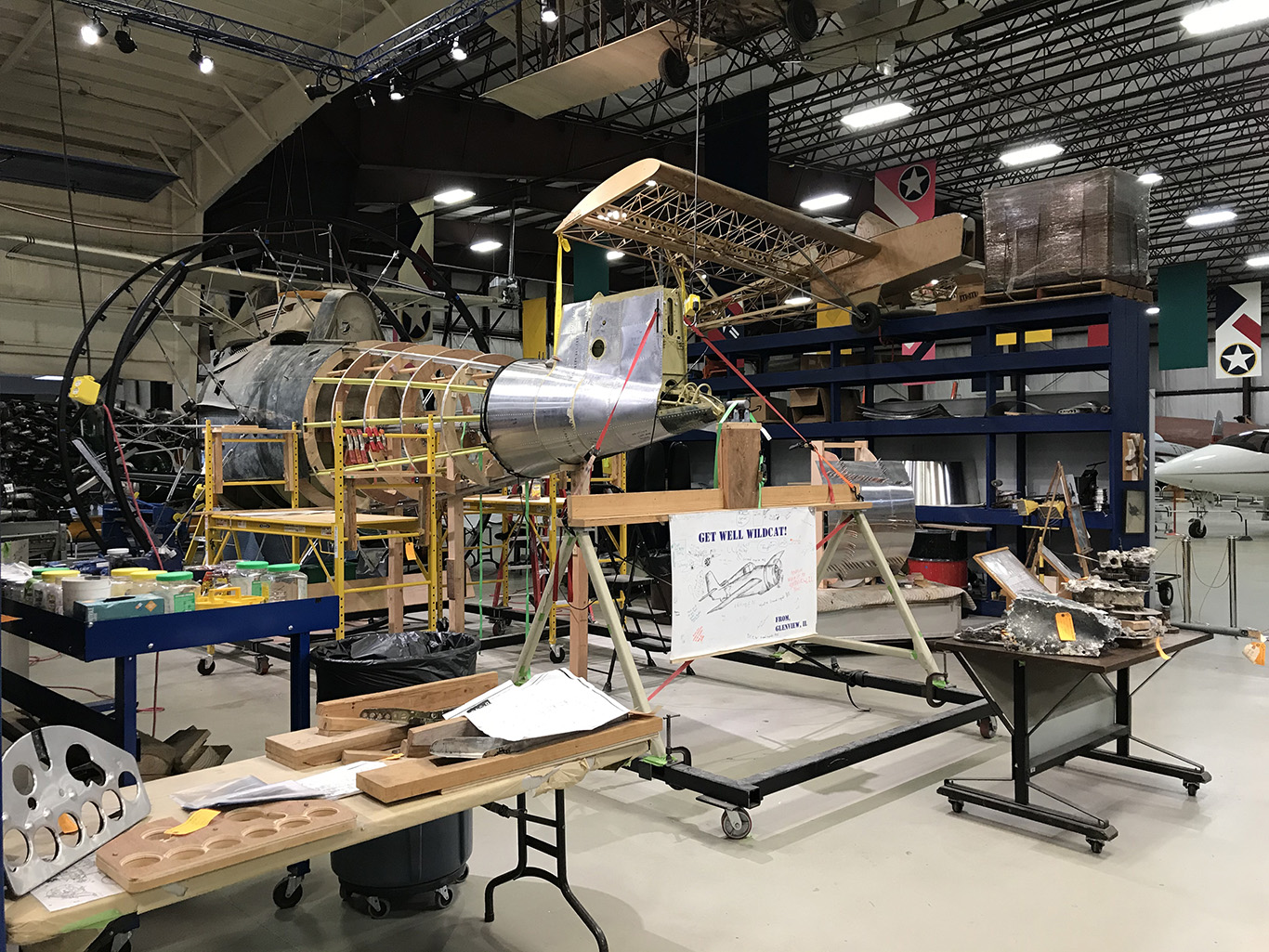 Restoring the FM-2 Wildcat image