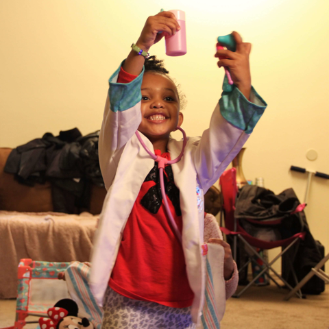 Bria Hazel Future Doctor