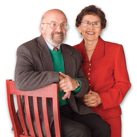 Co-founders Ralph Nesson and Marjorie Marugg-Wolfe