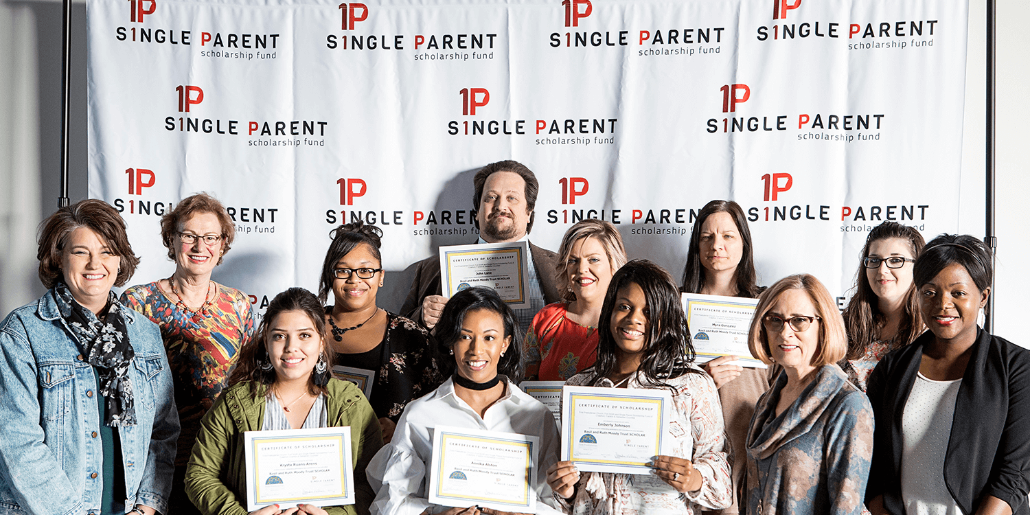 Single Parent Scholarship Winners