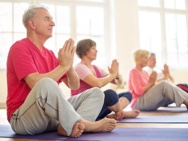senior mobility yoga