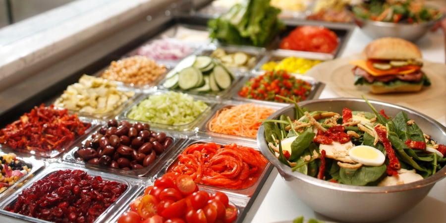 Cheffie's Cafe Salad Ingredients