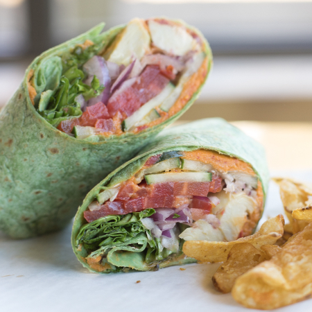 Picture of Cheffie's Wrap and Chips