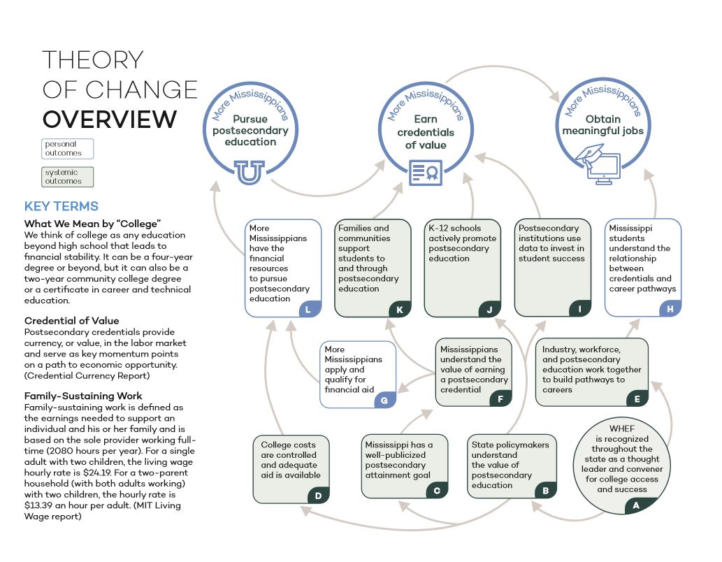 Theory of Change Overview Chart