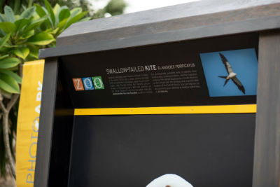 National Geographic Photo Ark Exhibit Board
