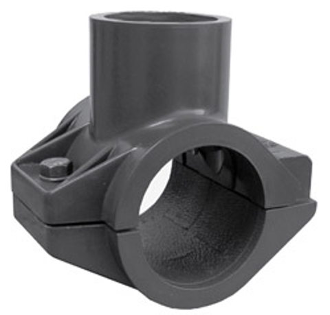 1½ x 1 HDPE x Socket Heavy Turf Saddle with Socket Top-Out