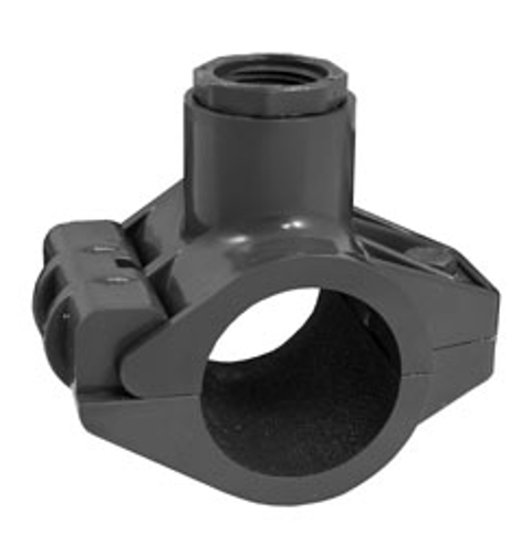 1½ x ½ HDPE X FIPT Heavy Turf Tap't™ Saddles with FIPT Top-Out