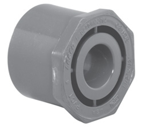½ x ¼ SP x Slip Sch80 Reducer Bushing (Flush Style)