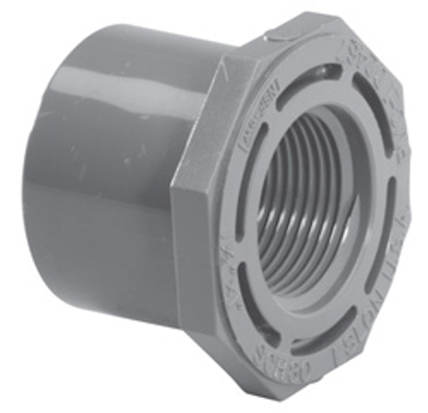 ½ x ¼ SP x FPT Sch80 Reducer Bushing (Flush Style)