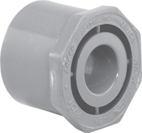 2 x ¼ * SP x Slip SCH80C Reducer Bushing (Flush Style)