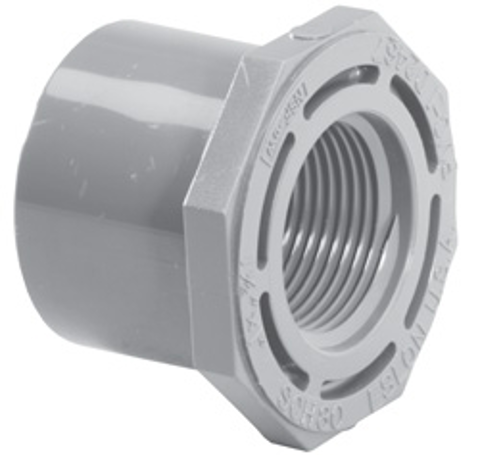 ½ x ¼ SP x FPT SCH80C Reducer Bushing (Flush Style)