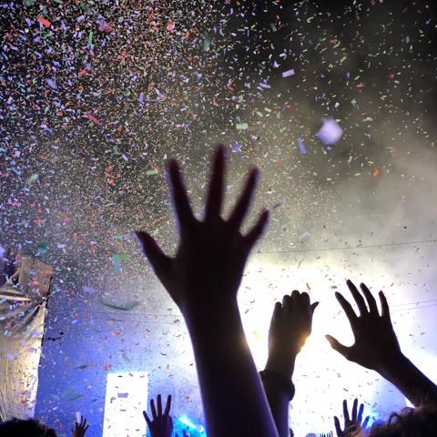 More Concert Confetti