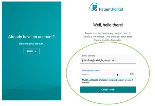 Patient Portal Instructions