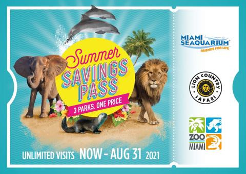 Summer Savings Pass, 3 Parks 1 Price