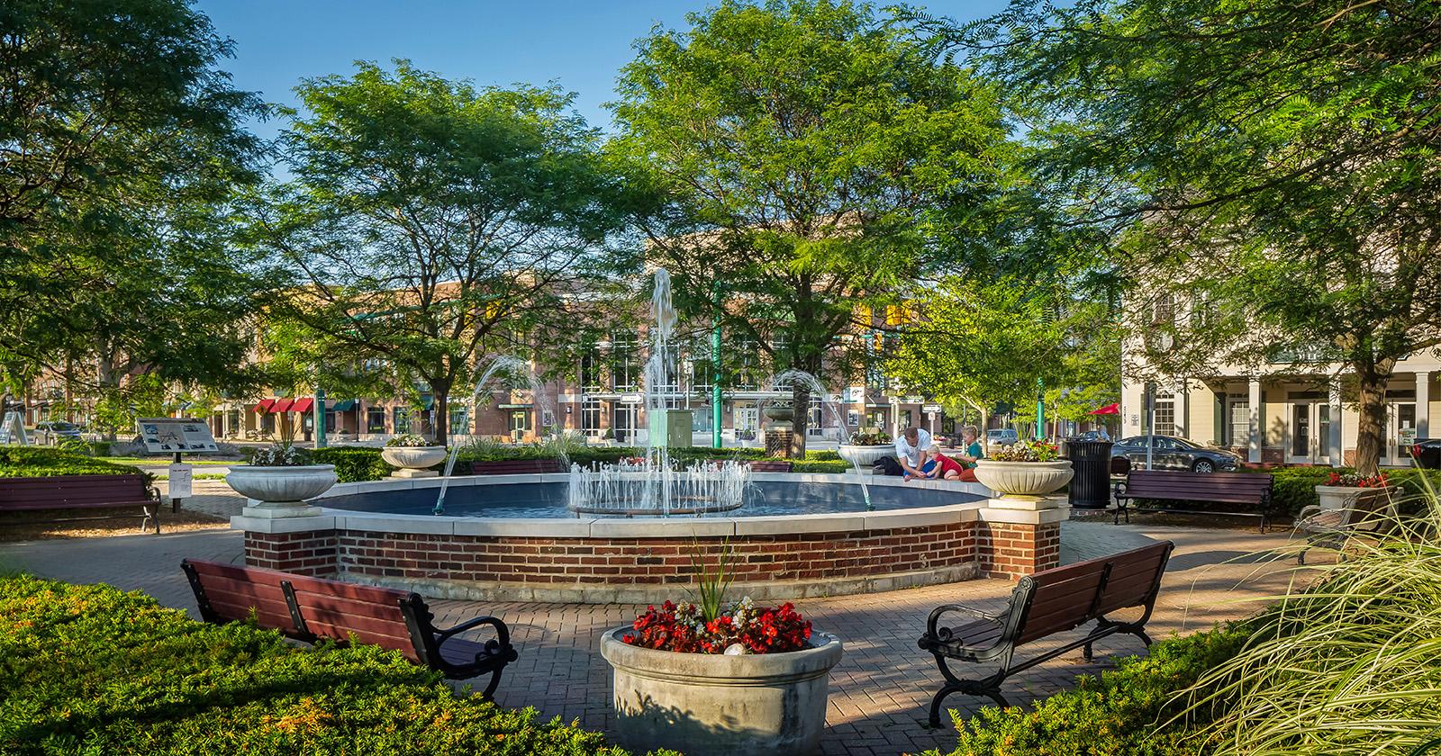 Cherry Hill Village Center, Canton Township, MI