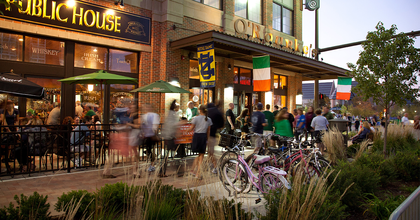 Eddy Street Commons, University of Notre Dame, South Bend, IN
