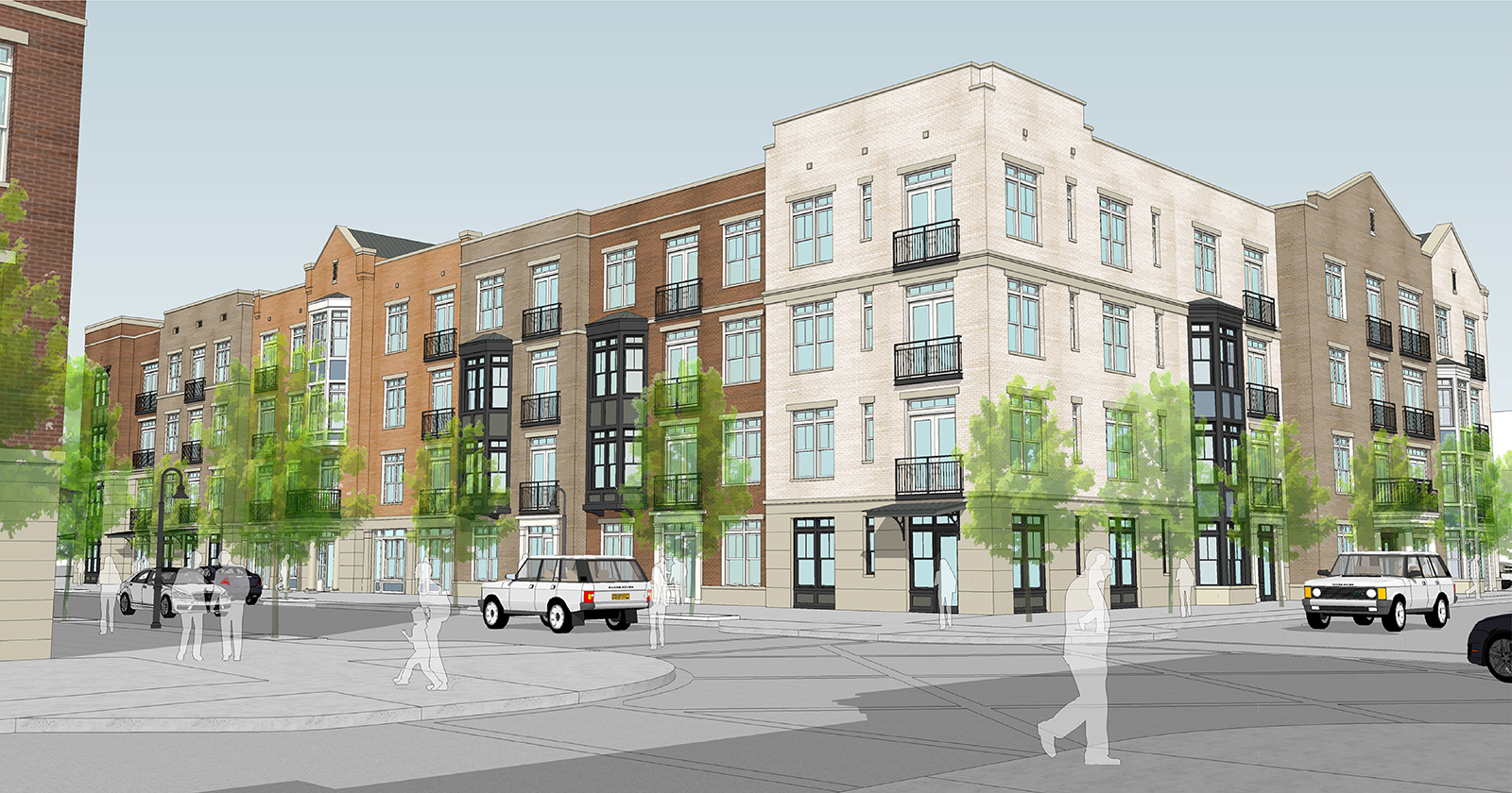 Eddy Street Commons, Phase II, University of Notre Dame, South Bend, IN