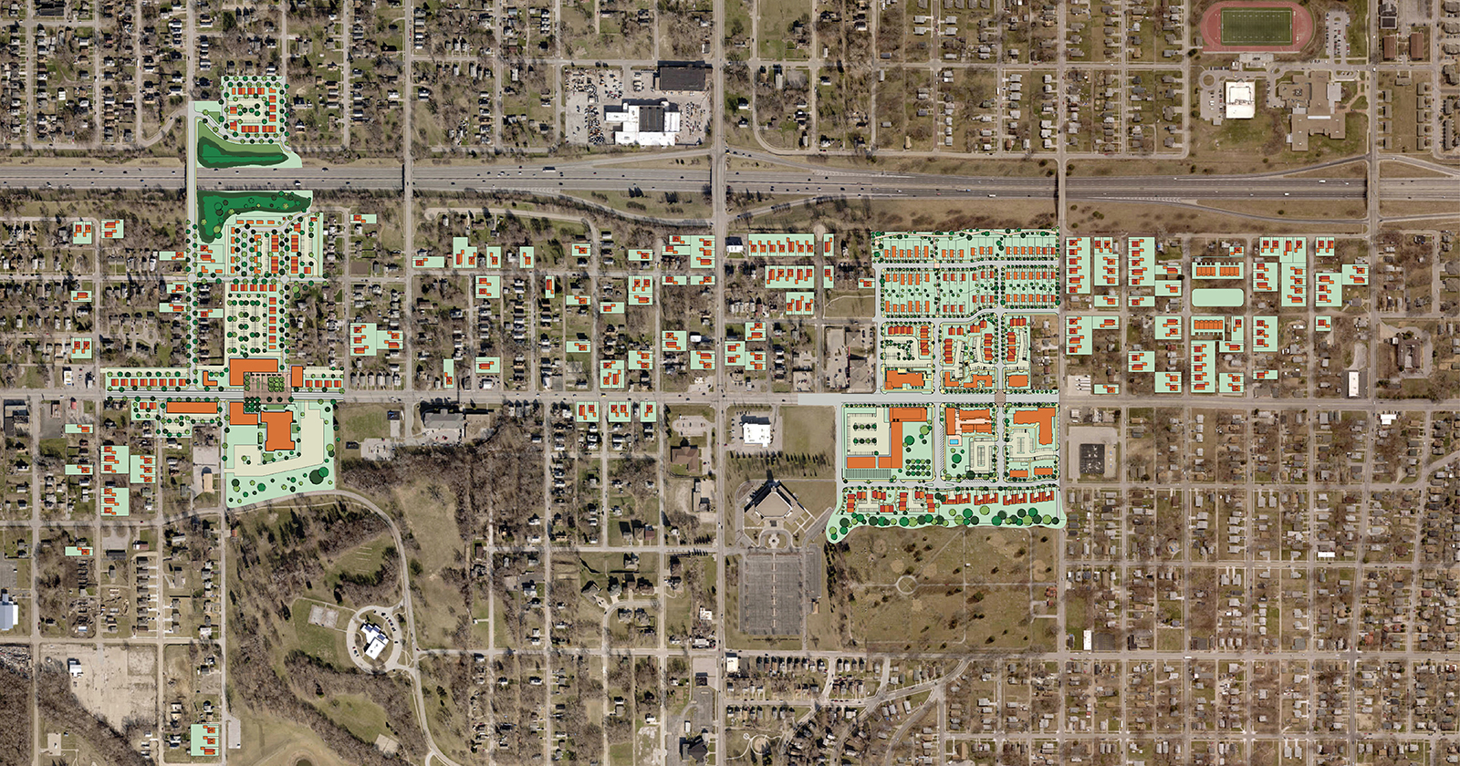 North 30th Choice Neighborhood, Omaha, NE