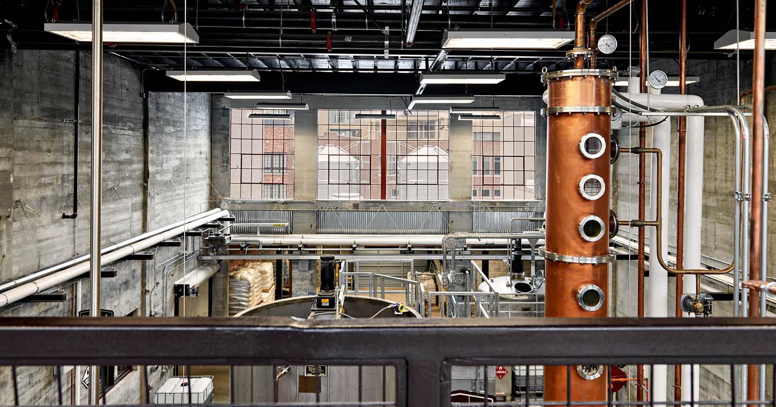 Old Dominick Distillery, Memphis, TN