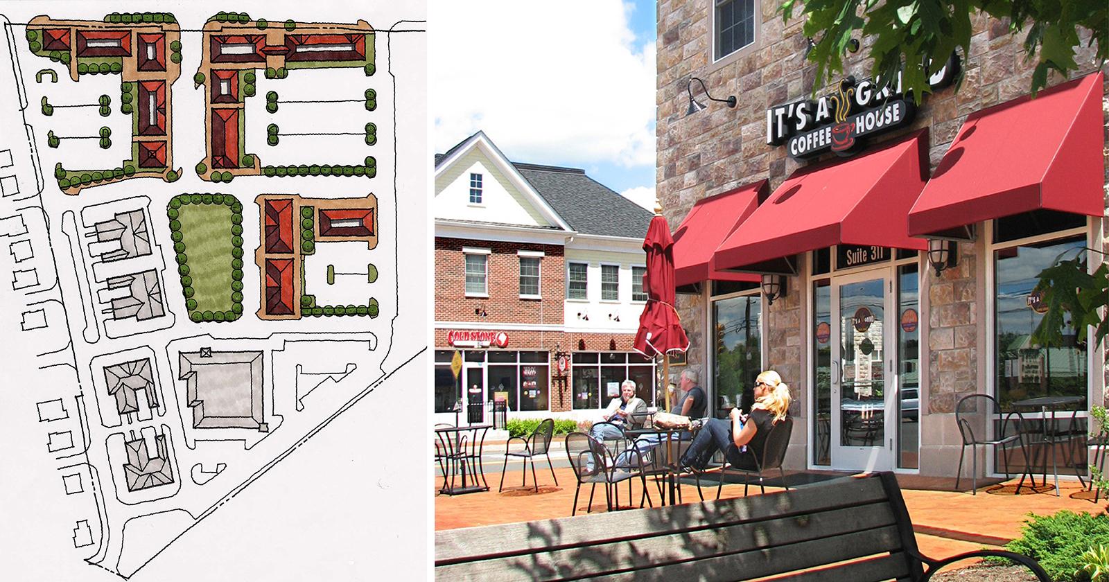 Plainsboro Village Center, Plainsboro, NJ