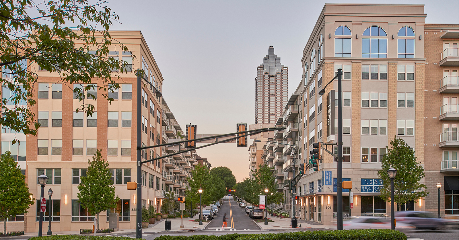 Post Centennial Park , Atlanta, GA