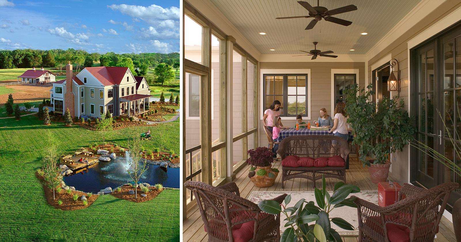 Progressive Farmer Idea House, Murfreesboro, TN