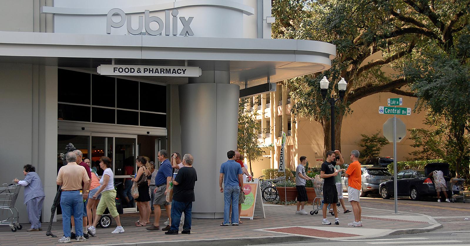 Publix - The Paramount at Lake Eola , Orlando, FL