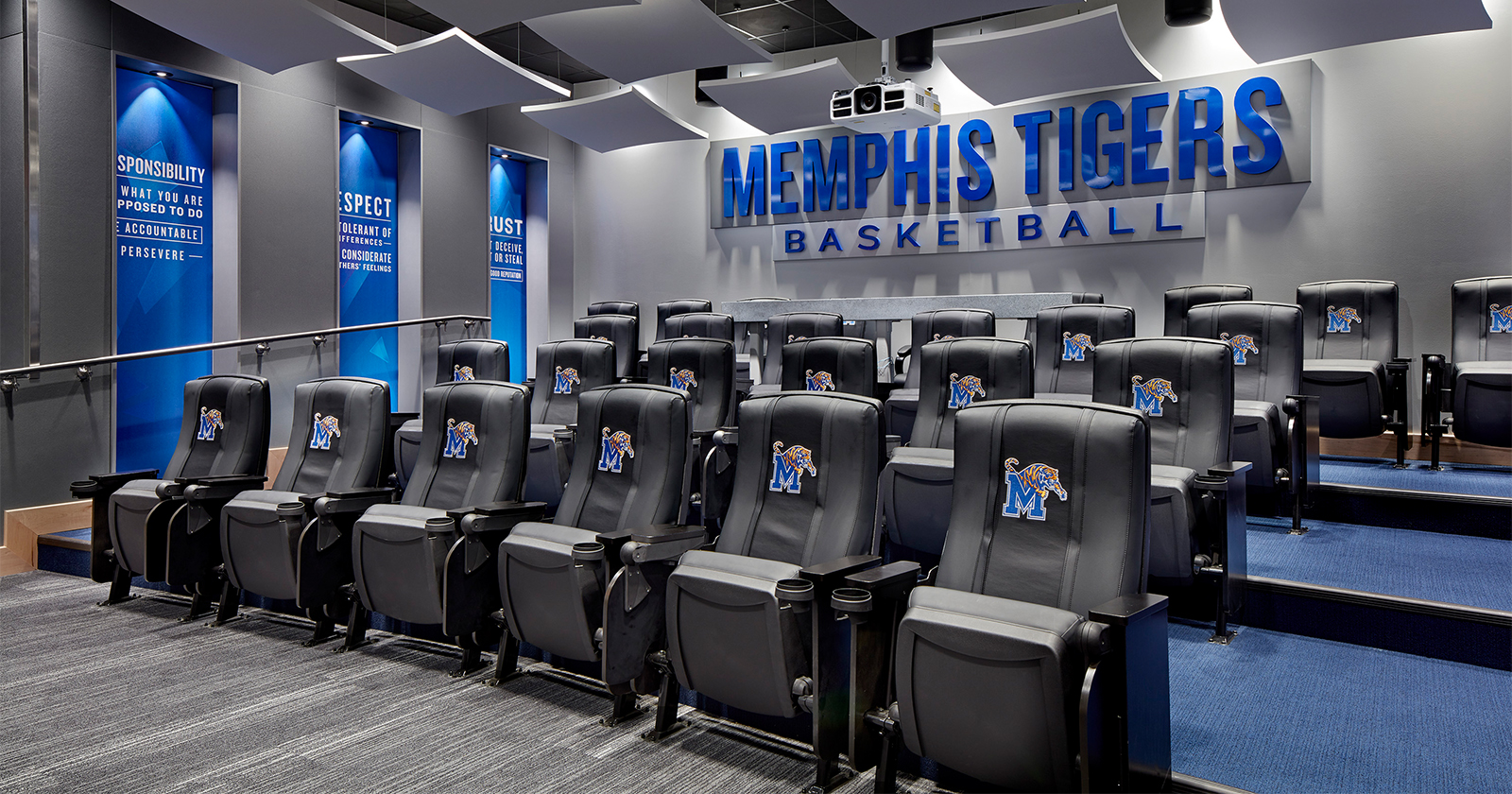 U of M Laurie-Walton Family Basketball Center , Memphis, TN