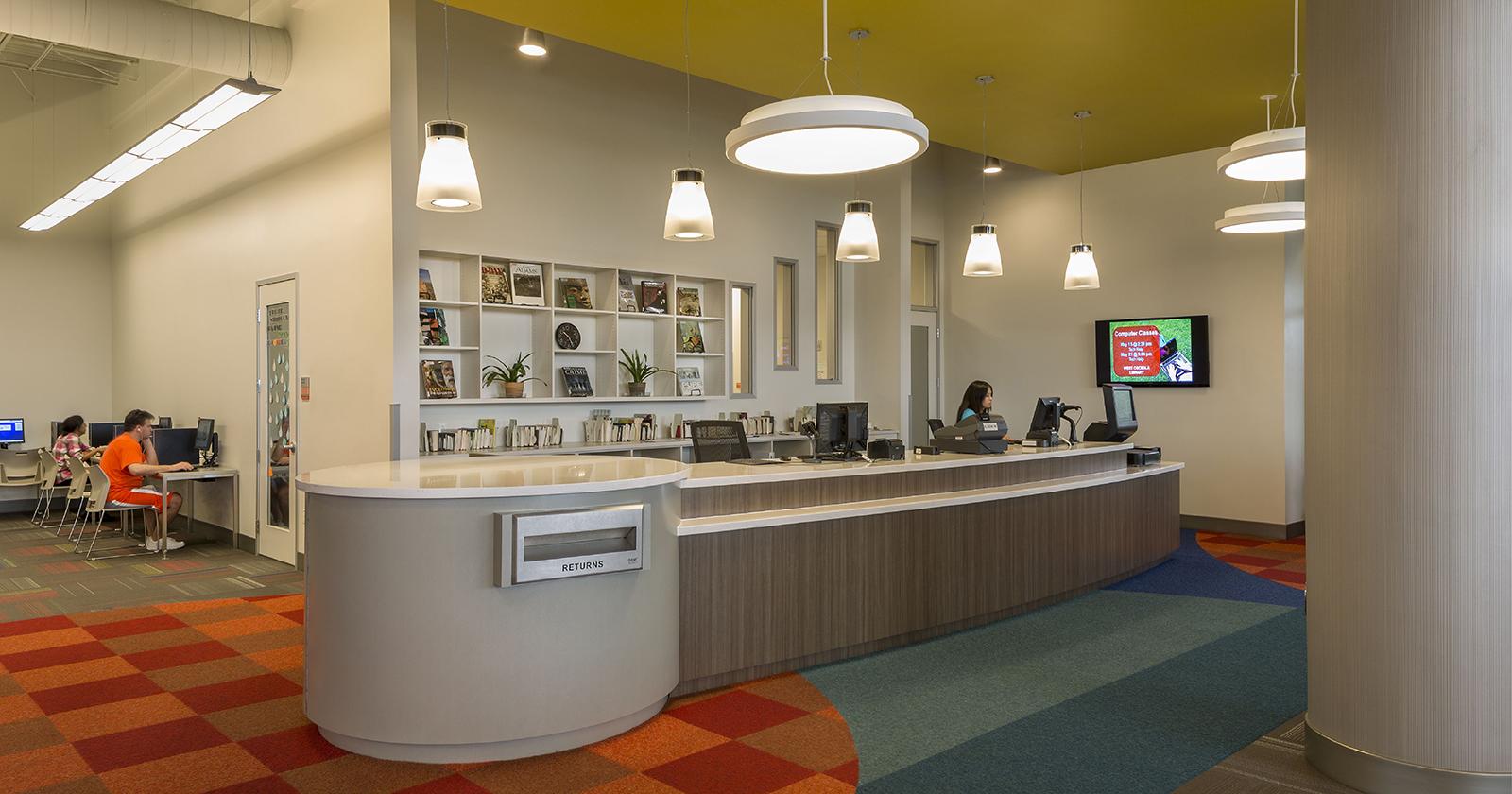West Osceola Branch Library, Celebration, FL