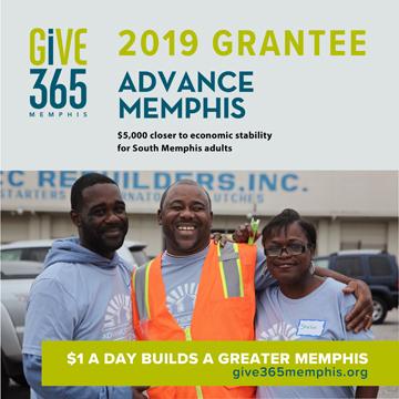 Give 365 Advance Memphis Banner