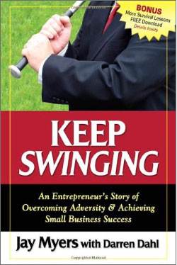 keeping swinging book cover