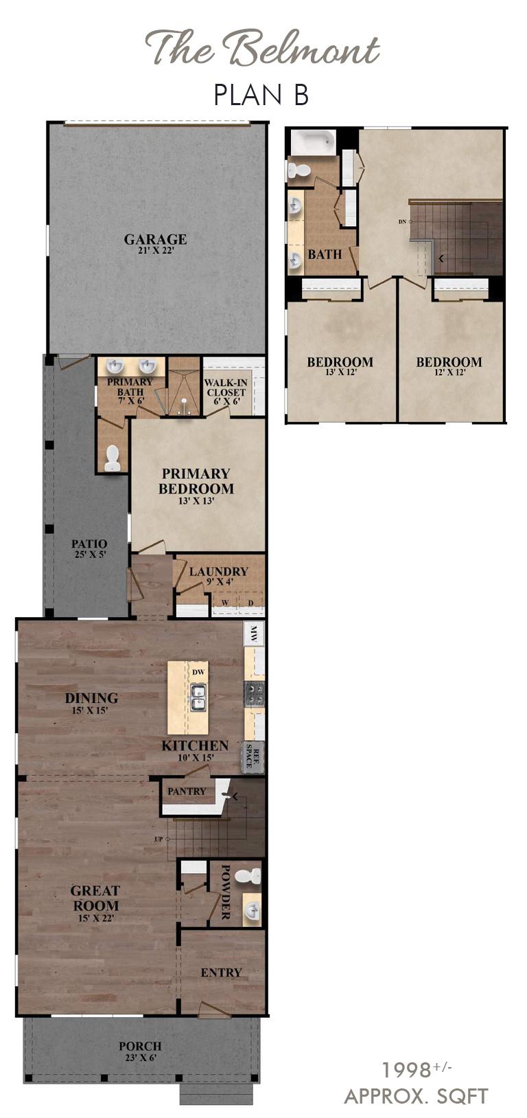 The Belmont - Plan B First Floor