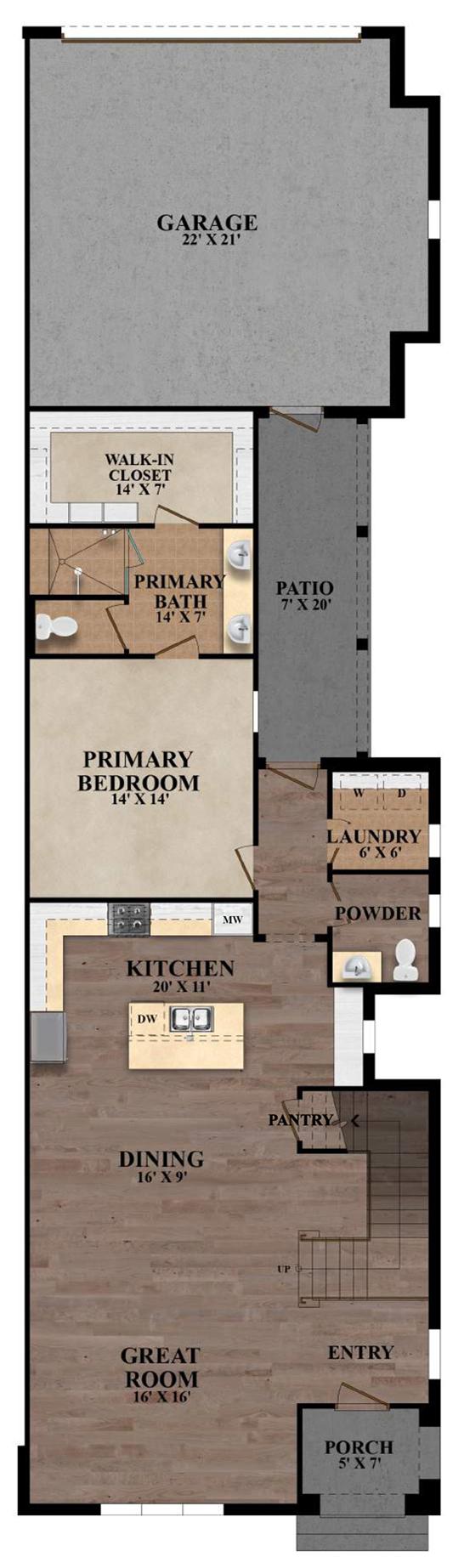 The Carrington - Plan C First Floor